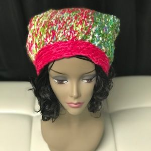 Sparkle Fushia /Green /White xl hat